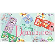 Eeboo Candy Color Dominoes Educational Learning Counting Game Set