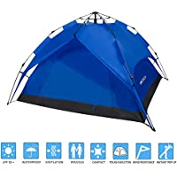 ANCHEER Portable 2 Person Camping Tent for Kids & Adults...