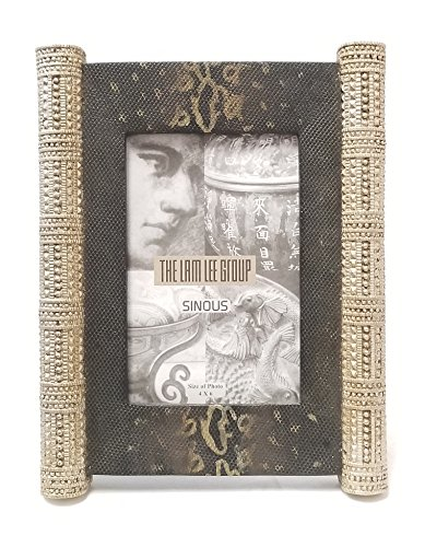 The Lam Lee Group 4x6 Golden Pillar Greek Picture Frame ()