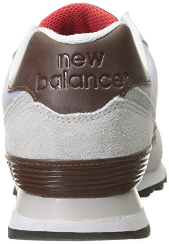 Grigio Mink Scarpe da Silver Atletica Nbml574bca New Uomo Balance qRxC44
