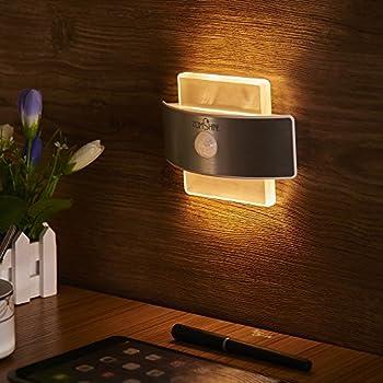 Amazon Com Geekercity Modern Acrylic 6w Led Bedroom Wall