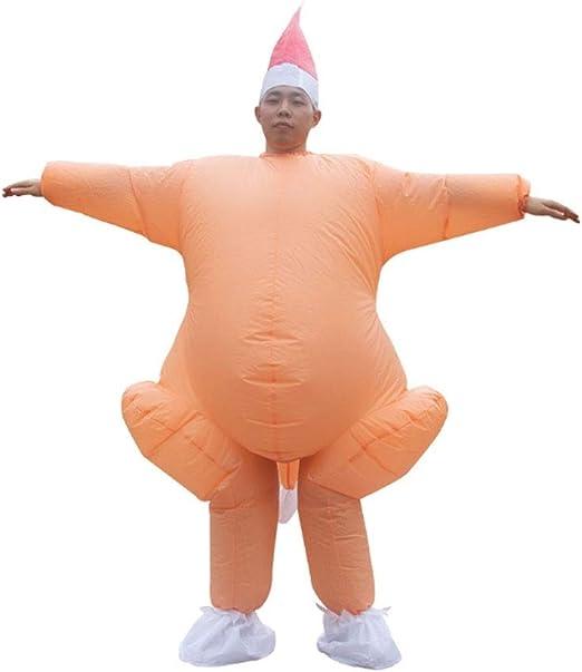 SSBH Adulto inflable cuerpo completo pavo pollo mono cosplay ...