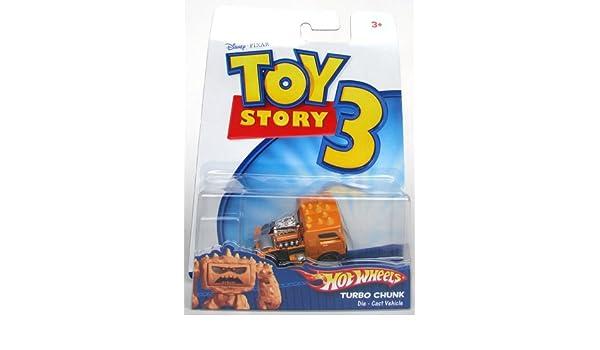Mattel r2520 - Toy Story 3 - Vehículos - Hot Wheels - Turbo Chunk: Amazon.es: Juguetes y juegos