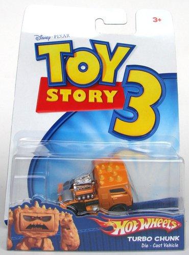 Mattel r2520 – Toy Story 3 – Vehículos – Hot Wheels – Turbo Chunk