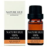Nature Hue - Sweet Orange Essential Oil 10 ml, 100% Pure Therapeutic Grade, Undiluted