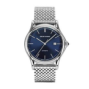 Emporio Armani Reloj para Hombre de Automático con Correa en Acero Inoxidable ARS3022 10