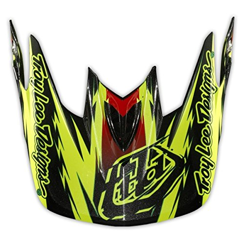Troy-Lee-TroyLee-D3-Visor-Thunder-Yellow-Helmet-Spares-Yellows
