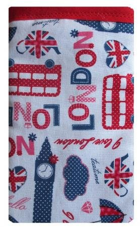 Wei§ London Print Apple iPhone SE Socke / Case / Cover