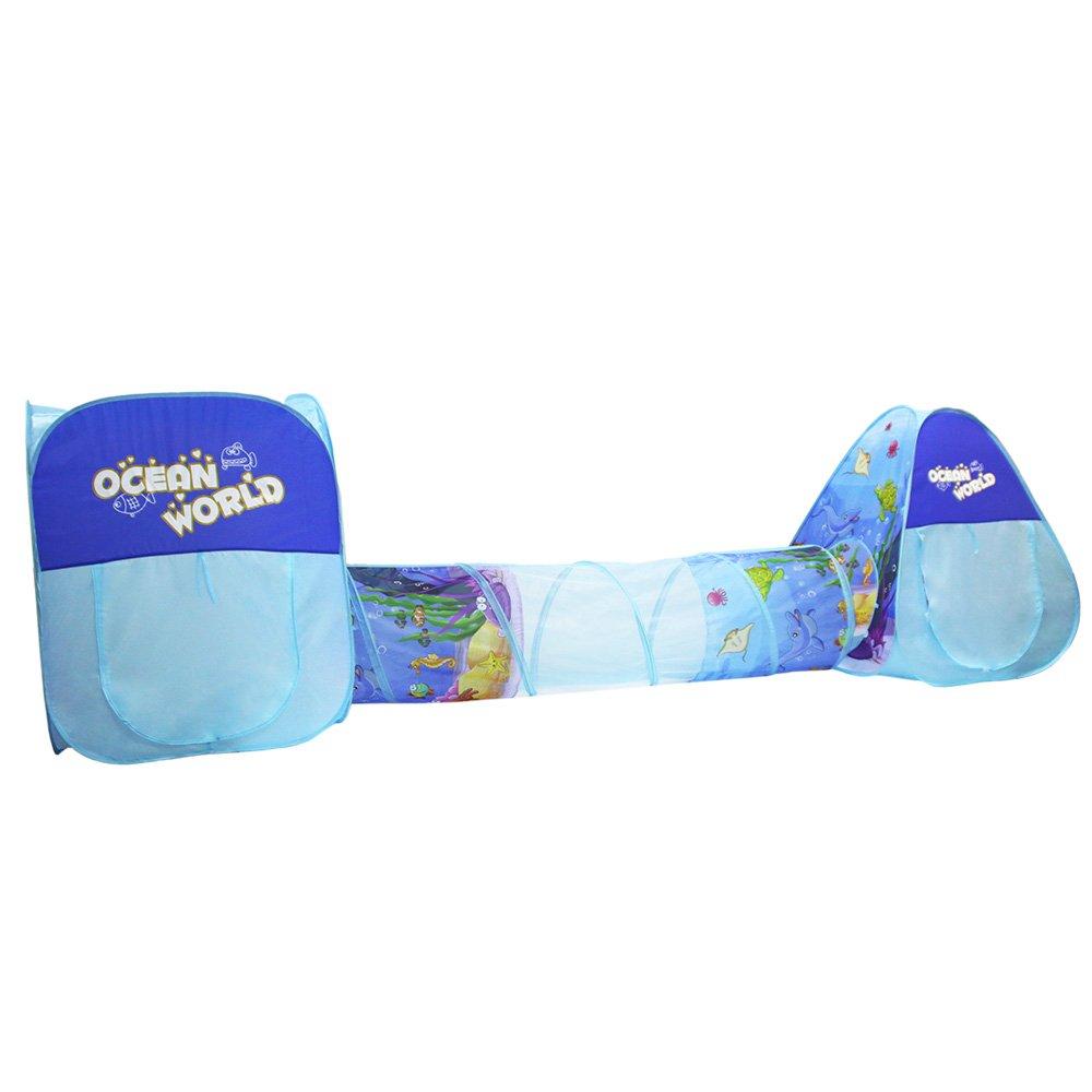 Easy Go Shopping Zelt Kinder Spielen - Folding dreiteilige Ocean Ball Pool dreiteilige Folding Kinder Zelt Unterwasserwelt 43f12b
