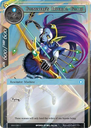 (Force of Will - Guinevere's Imperial Guard - SNV-045 - C - The Strangers of New Valhalla)