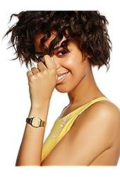 Casio Women's LA670WGA-9 Gold Stainless-Steel Quartz Watch with Digital Dial