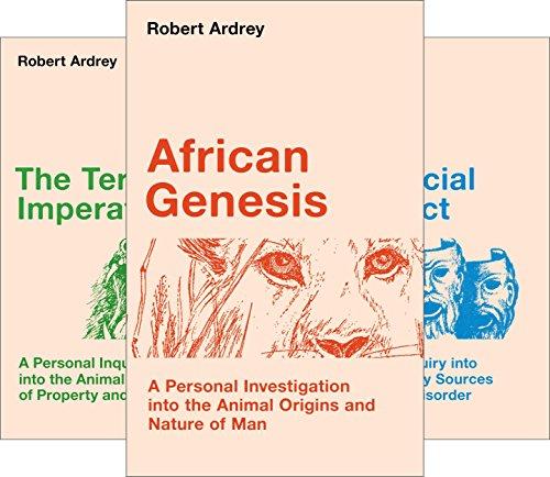 Robert Ardrey's Nature of Man series (4 Book Series)