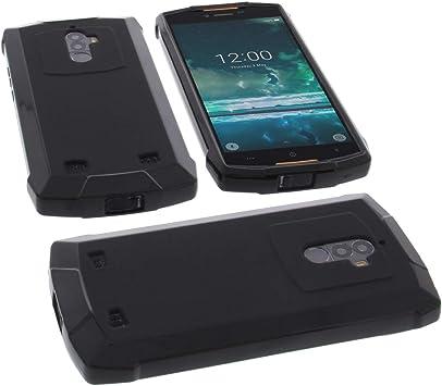 foto kontor Étui pour Doogee S55 S55 Lite Housse pour Smartphone en Caoutchouc TPU Noir