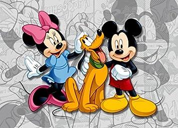 1art1 77956 Micky Maus - Minnie Maus Und Pluto, Beste Freunde ...