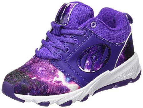 Heelys Wheel - Heelys Hightail Sneaker (Little Kid/Big Kid), Purple/Lilac/Galaxy, 1 M US Little Kid