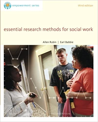 Amazon brookscole empowerment series essential research series essential research methods for social work sw 385r social work research methods 9780840029133 allen rubin earl r babbie books fandeluxe Image collections