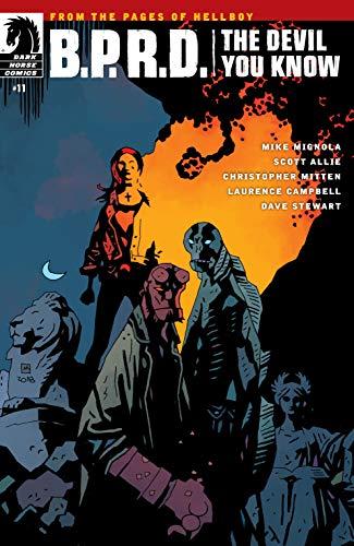 ec41e61341c12 Amazon.com: B.P.R.D.: The Devil You Know #11 eBook: Mike Mignola ...