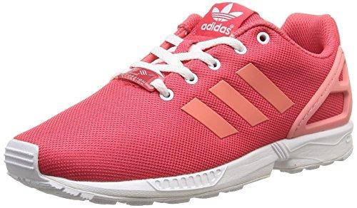 adidas Zx Flux K, Men Sneakers Pink / Fuchsia / White
