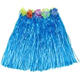 Product review for ECOSCO Hawaiian Plastic Flower Grass Skirt 15 inch Long Hula Luau Skirt