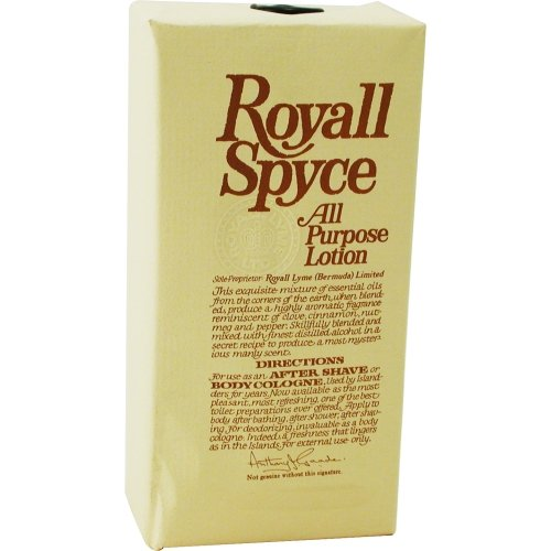 ROYALL SPYCE by Royall Fragrances AFTERSHAVE LOTION COLOGNE 8 OZ for MEN ---(Package Of 2) by ROYALL SPYCE