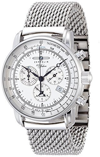 ZEPPELIN watch Special Edition 100years Zeppelin Ivory dial 7680M1 Men's [regular imported goods]