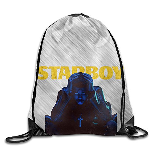 The Weekend Starboy New Album Sport Backpack Drawstring Print Bag For Sale