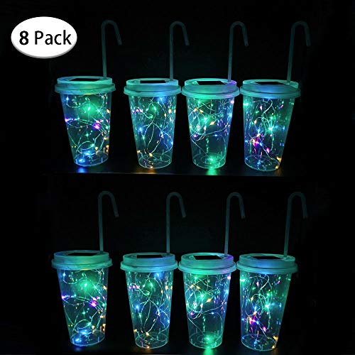 Plastic Cup Patio Lights in US - 6