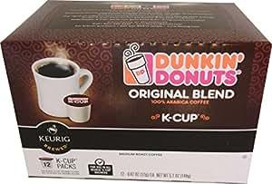 Dunkin Donuts KCups Original Flavor 24 Kcups for use in Keurig