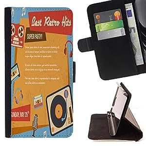 Dragon Case - FOR Sony Xperia Z1 Compact D5503 - The best is come - Caja de la carpeta del caso en folio de cuero del tir¨®n de la cubierta protectora Shell