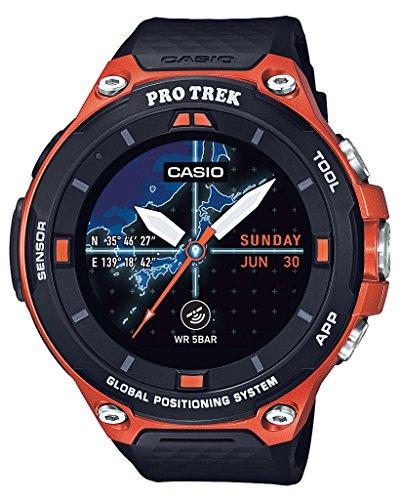 カシオ CASIO スマートアウトドアウォッチ プロトレックスマート GPS搭載 WSD-F20-RG メンズの商品画像