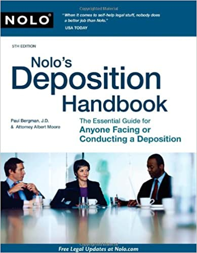 A Guide to Help You Give a Winning Deposition The Deposition Handbook