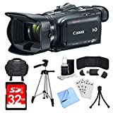 Canon VIXIA HF G40 Camcorder, 32GB Card, and Accessories Bundle - Includes Camera, Card, Bag, Tripod, Mini Tripod, Card Wallet, Card Reader, Screen Protectors, Cleaning Kit, and Cleaning Cloth