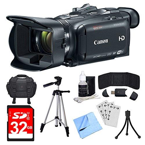 Canon VIXIA HF G40 Camcorder, 32GB Card, and Accessories Bun