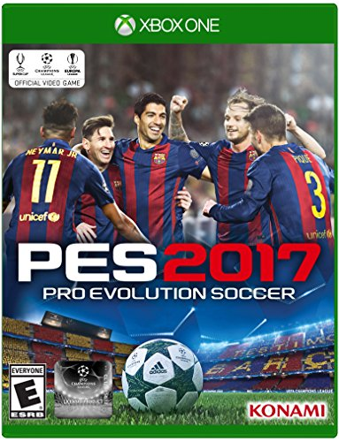 Pro Evolution Soccer 2017 - Xbox One Standard Edition (Xbox One Cd)