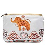 Women and Girls Cute Fashion Coin Purse Wallet Bag Change Pouch Key Holder (Cute Small Elephant)