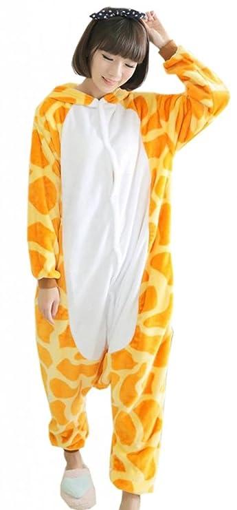 EOZY Pijamas/Disfraz De Animales Para Mujer Hombre Adulto - Franela Jirafa,S: Amazon.es: Juguetes y juegos