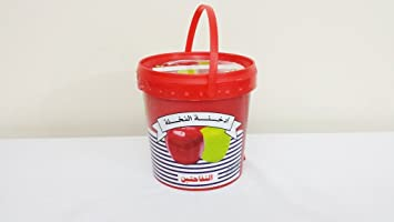 1kg. Nakhla Shisha Molasses   Non Tobacco Two Apple Flavour Hookah Water Pipe by TheMeShoppe available at Amazon for Rs.9212