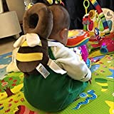 BOER INC Baby Head Protective Pad Adjustable Infant Safety Pads for Baby Walkers Protective Head Back Infant Safety Cushion for Toddles