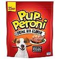 Pup-Peroni Prime Rib Flavor Dog Snacks, 25 Ounce