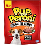 Pup-Peroni Prime Rib Flavor Dog Snacks, 25 Ounce