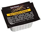 Taste Pleasers Gourmet Buttermilk Ranch Dressing, 1-Ounce Cups (Pack of 100)