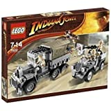 LEGO - 7622 - Indiana Jones - Jeux de construction - L'attaque du convoi