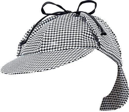 Disfraz Disfraz Tocados Sherlock Holmes Gorro de cazador Detective ...