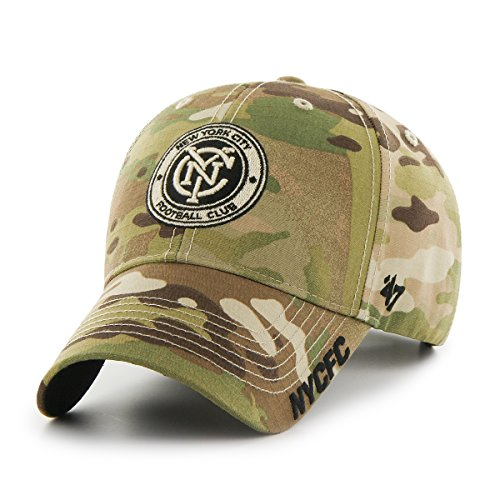 MLS New York City FC Myers MVP Hat, One Size, - Myer City