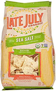 Late July Organic Restaurant Style Tortilla Chip, Sea Salt, 11 Oz 0