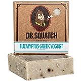 coffee bar soap - Exfoliating Soap for Men with Oatmeal Scrub – Eucalyptus Greek Yogurt – Man's Delight with Moisturizing Yogurt and Organic Eucalyptus Oil – Handmade in USA by Dr. Squatch