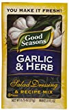 Good Seasons Salad Dressing & Recipe Mix, Garlic & Herb, 0.75 ounce