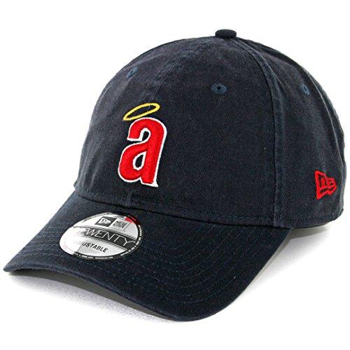 California Angels New Era 9Twenty MLB Core Classic Adjustable Hat - Navy
