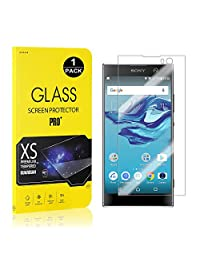 Sony Xperia XA2 Screen Protector, Bear Village® Tempered Glass Screen Protector [Lifetime Warranty], 9H Hardness Screen Protector Film for Sony Xperia XA2-1 PACK
