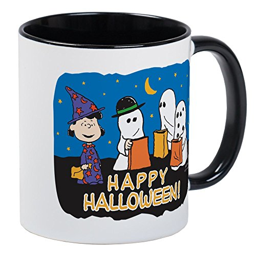 CafePress The Peanuts Gang Happy Halloween Mugs Unique